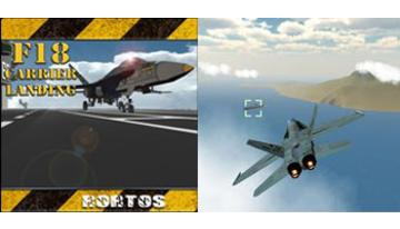 F18 Transporteur Landing