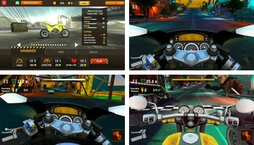 Moto Race: Traffic Racing Highway, gratis cykel spel