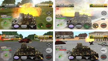 탱크 전쟁 수비수 2