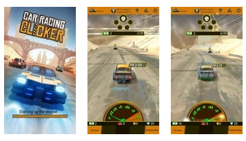 Car Racing Clicker: Kör simulering Idle Games