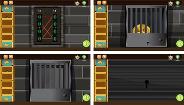 Ar galite pabėgti Prison Kambarys 2?
