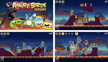 Angry Birds Seasons Abra-Ca-Speck