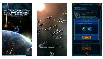 Galaxy Schlachtschiff