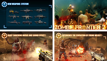 Zombie Frontier 2: izdzīvot