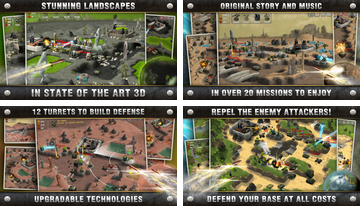 Total Defense 3D Tower Defense
