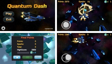 Quantum Dash - Flying Game