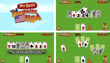 Mr Bean Solitaire Adventures - hauska korttipeli