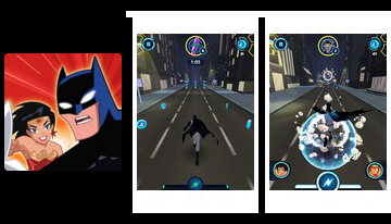 Justice League Ação Run