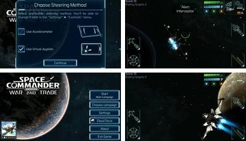 Space Commander: Krieg und Handel Ein