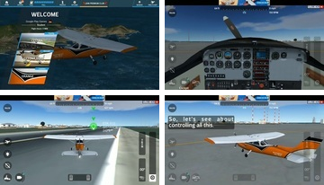 Flight Simulator 2018 FlyWings gratuito