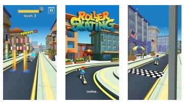 Roller klizanje 3D