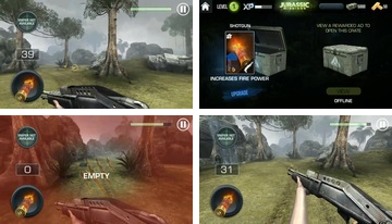 JURASSIC MISSIONS: free offline shooting games