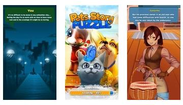 Puzzle de historia de mascotas