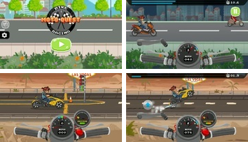 Moto Quest: Cykeltävling