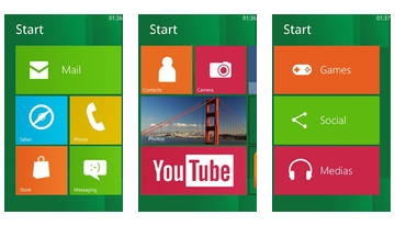 Windows 8 za Android