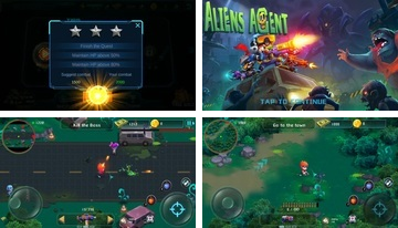 Aliens ügynök: Star Battlelands