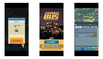 Zombie Bus : Merge Gunz