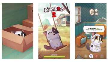My Cat Mimitos 2 - Virtuelles Haustier mit Minigames