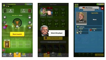 Bábfej Football Card Manager CCG