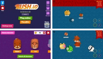 Rush.io - Multiplayer