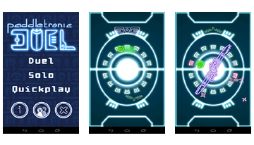 Paddletronic Duell