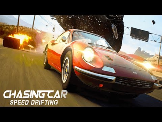 chasing car vitesse dérive
